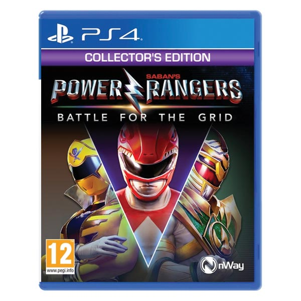 Power Rangers: Battle for the Grid (Collector 'Edition) PS4