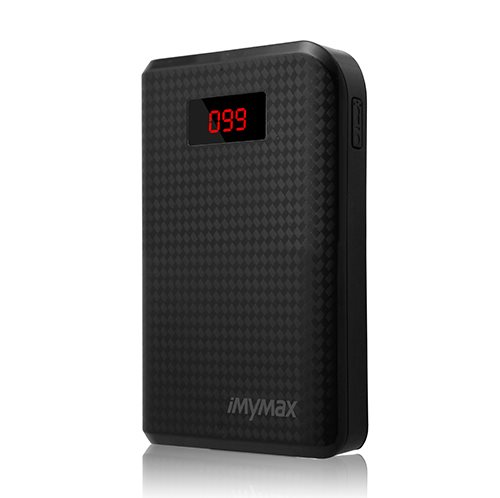 PowerBank MyMax-10 000 mAh, Black