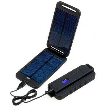 Powermonkey-eXtreme (Solární outdoorová nabíječka) + PowerBank 9000mAh | černá