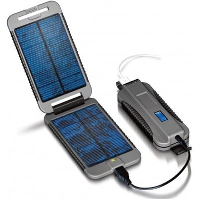 Powermonkey-eXtreme (Solární outdoorová nabíječka) + PowerBank 9000mAh | šedá