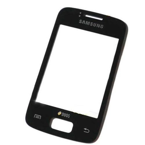 Přední kryt pro Samsung Galaxy Y Duos S6102, Black