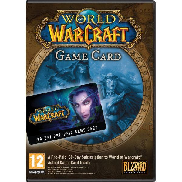 World of Warcraft Game Card