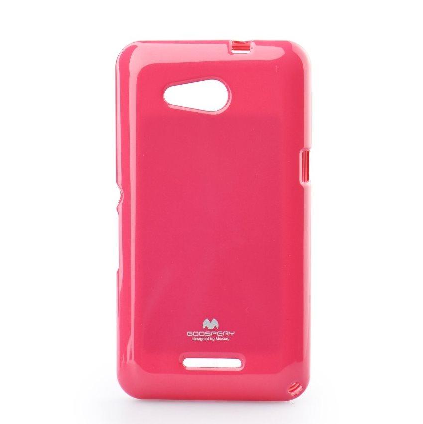 Premiové silikonové pouzdro Jelly Mercury pro Sony Xperia E4g-E2003, Pink