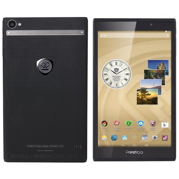 Prestigio MultiPad Consul 8.0 - PMT7008, LTE, Black + kožené pouzdro