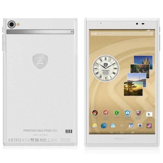 Prestigio MultiPad Consul 8.0 - PMT7008, LTE, White + kožené pouzdro
