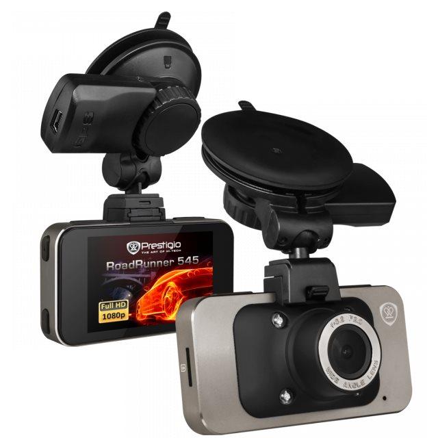 Prestigio Roadrunner 545 - Full HD kamera do auta s GPS