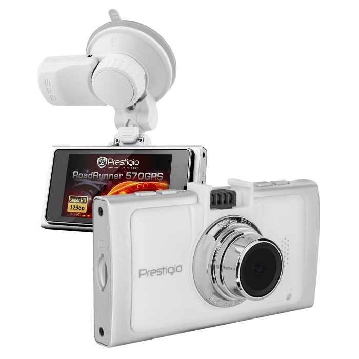 Prestigio Roadrunner 570 - Full HD kamera do auta