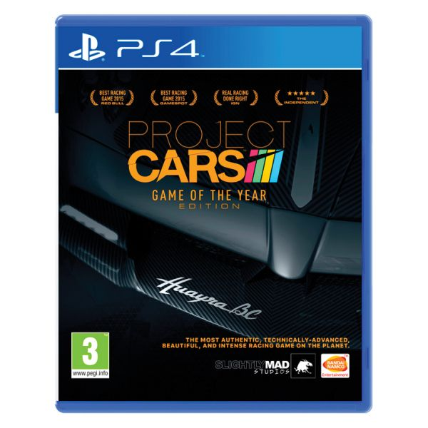Project CARS (Game of the Year Edition) PS4