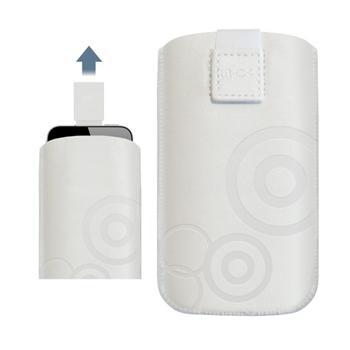 Pouzdro 4-OK Design Waves-Size iPhone 5, White