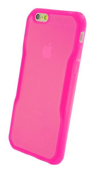 Pouzdro 4-OK FLUOR iPhone 6, Růžové