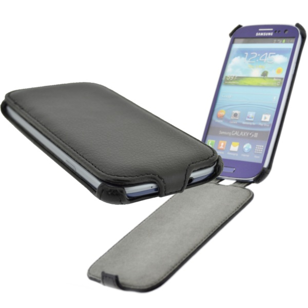4-OK klape CASE Black, Samsung Galaxy S2
