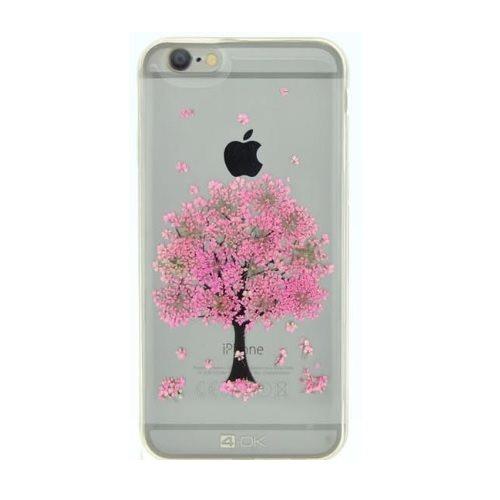 Pouzdro 4-OK květinové pro Apple Iphone 7, Motiv-Pink Tree