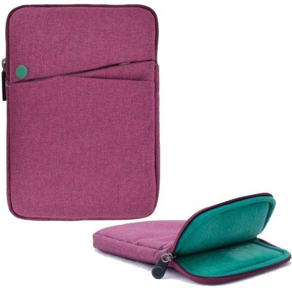Pouzdro 4-OK Nara pro Prestigio MultiPad 4 QUANTUM 8.0 3G-PMT5487, Cotton Lilac