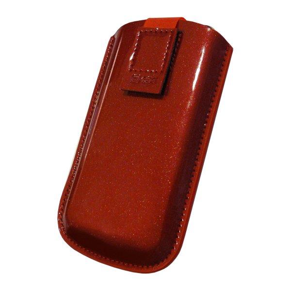 Pouzdro 4-OK Sparkling-size iPhone, Red