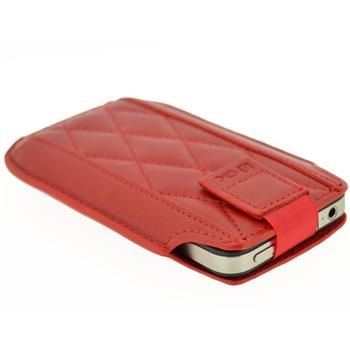 Pouzdro 4-OK UP 3Angle-Size iPhone 4/4S, Red