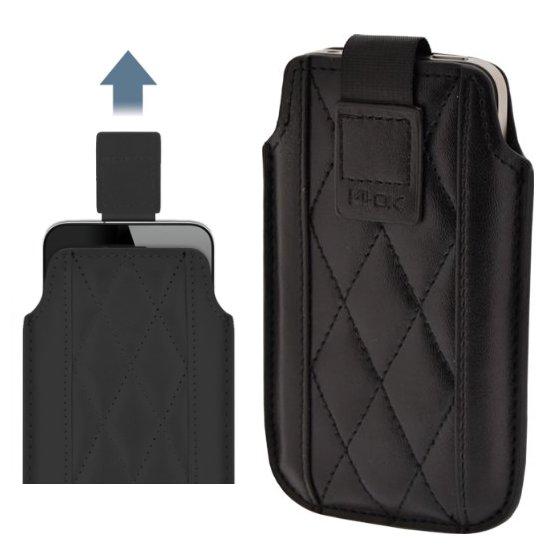 Pouzdro 4-OK UP 3Angle-Size iPhone, Black