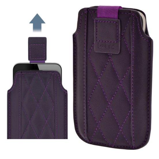 Pouzdro 4-OK UP 3Angle-Size iPhone, Purple