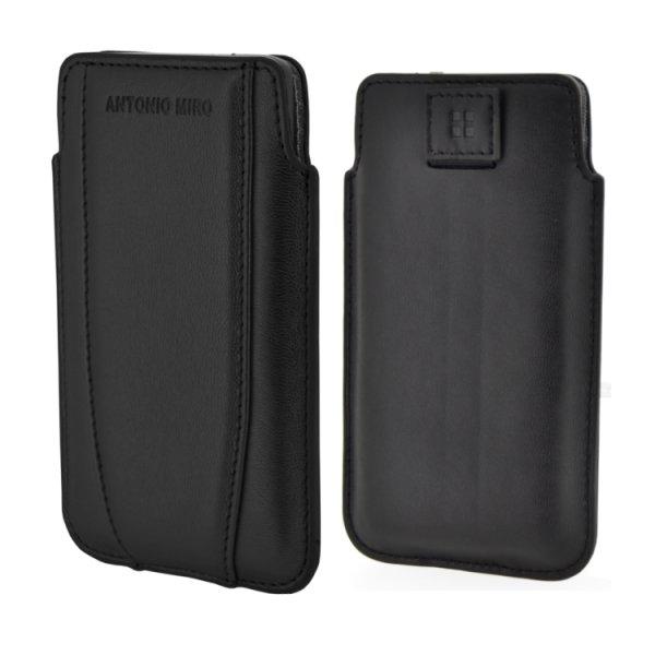 ANTONIO MIRO UP CASE, Black, pouzdro na iPhone a další mobily do rozměrů 115x62x13mm