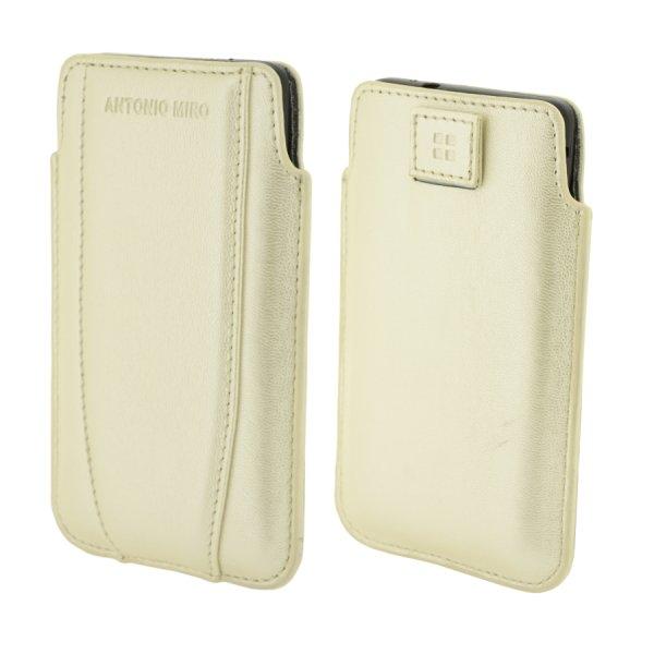 ANTONIO MIRO UP CASE, White-pouzdro pro mobily do rozměrů 122x68x12mm