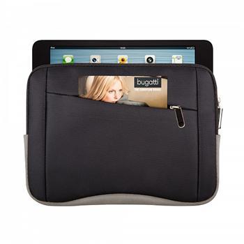 Pouzdro Bugatti Casual Nylon TabletCase pro GoClever Insignia 700 Pro, Black