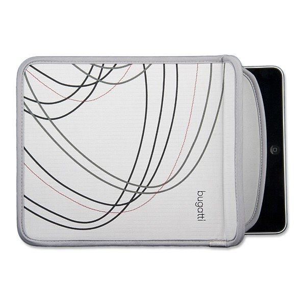 Pouzdro Bugatti Sleeve pro Samsung Galaxy Tab 4 10.1 LTE-T535, Grey