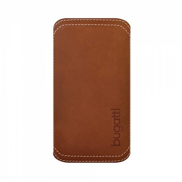 Pouzdro Bugatti TwoWay Leather pro Apple iPhone 5 a 5S, brown