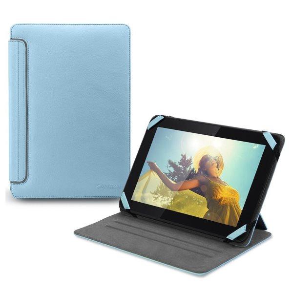 Pouzdro Canyon CNA-TCL0207 pro Huawei MediaPad X1 7.0, Light Blue