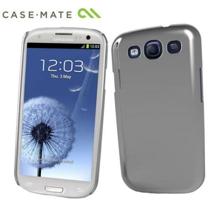 Case Mate Barely There-Samsung Galaxy S3 i9300-pouzdro, Metallic Silver