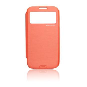Pouzdro Easy View pro Samsung Galaxy S4-i9505, Orange