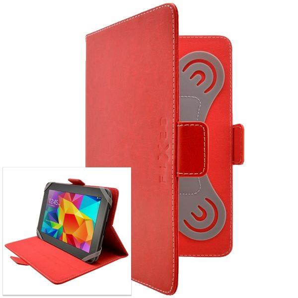 Pouzdro Fixed Novel pro Váš tablet (kolem 10 ''), červené