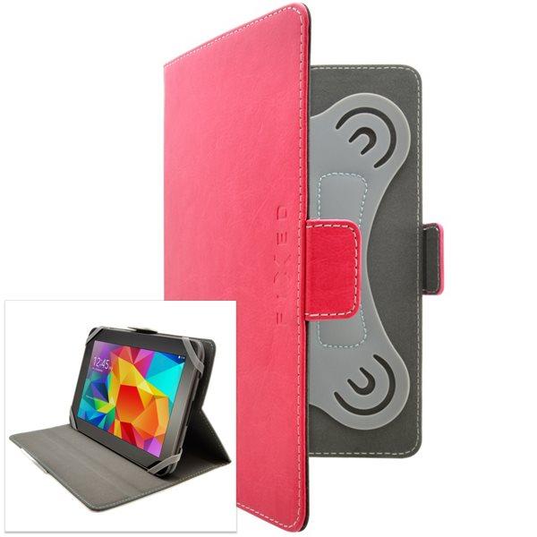 Pouzdro Fixed Novel pro Váš tablet (kolem 10 ''), růžové