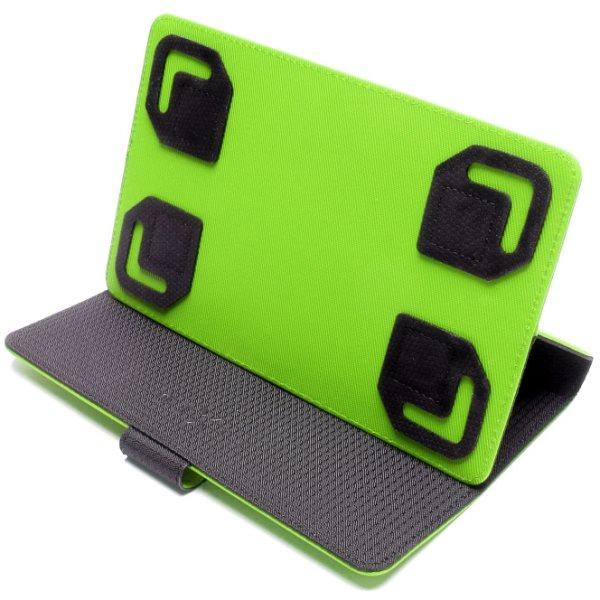 Pouzdro Fixed TwoFace pro Váš tablet (kolem 7 ''), černo-zelené