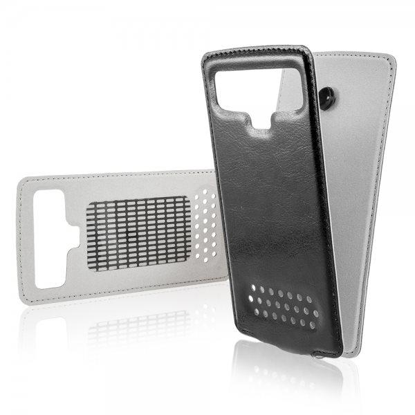 Pouzdro FlipCase 2 pro Váš smartphone do rozměrů 5.1-5.5 palce, White