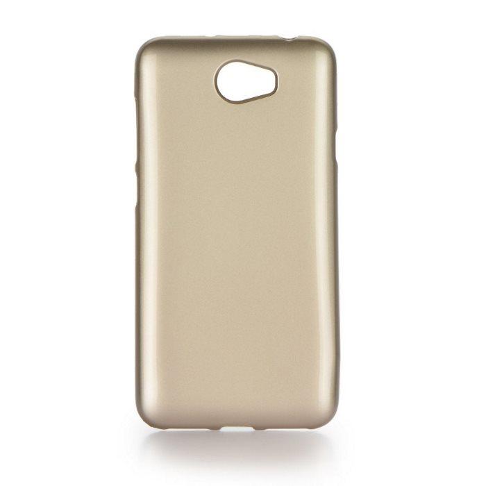Pouzdro Jelly Case Flash pro Huawei Y5II, Gold