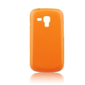 Pouzdro Jelly Case pro Samsung Galaxy Trend-S7560, Orange