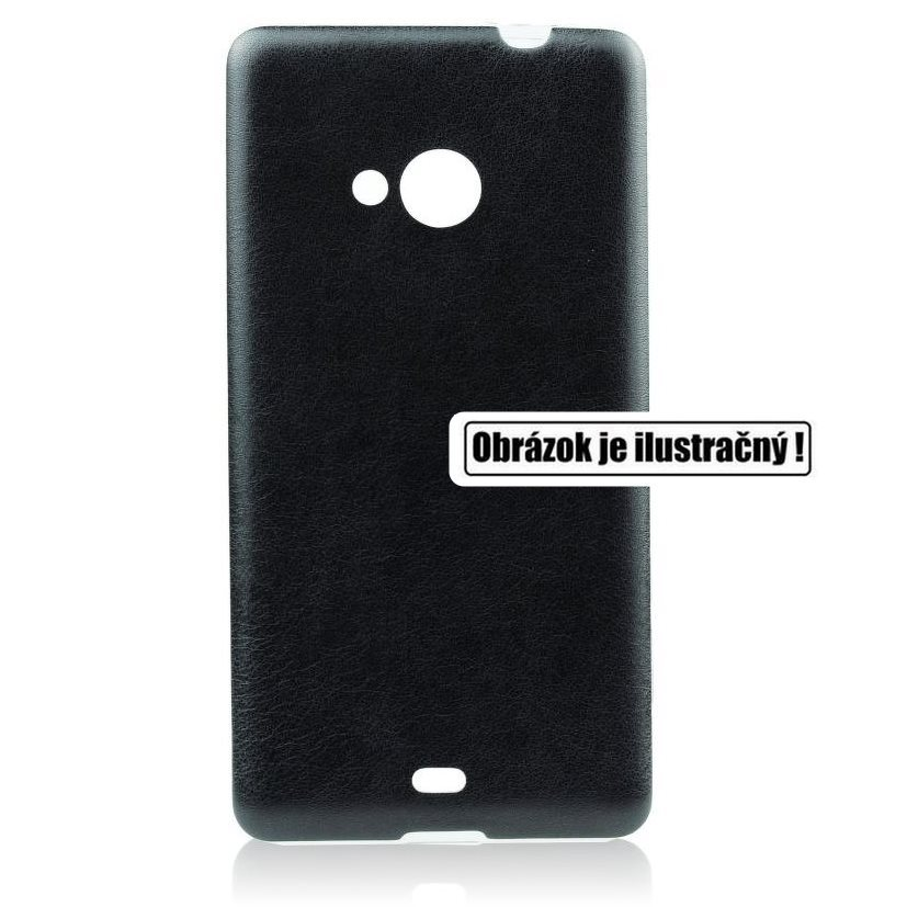 Pouzdro Jelly Leather pro Samsung Galaxy Xcover 3 - G388F, Black