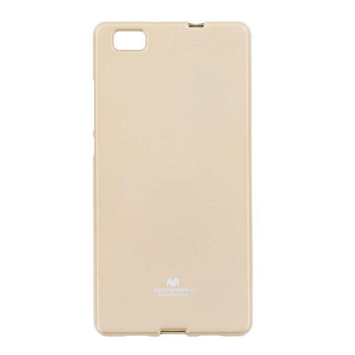 Pouzdro Jelly Mercury pro Huawei P8 Lite, Gold