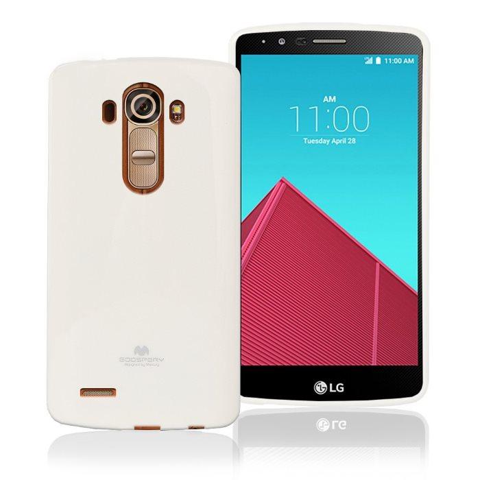 Pouzdro Jelly Mercury pro LG G4 - H815, White