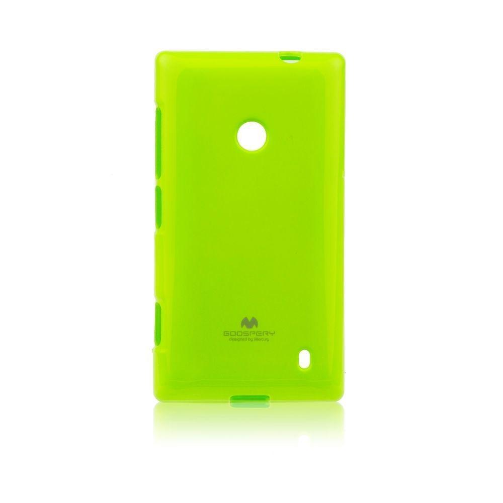Pouzdro Jelly Mercury pro Nokia Lumia 630 a 635, Lime