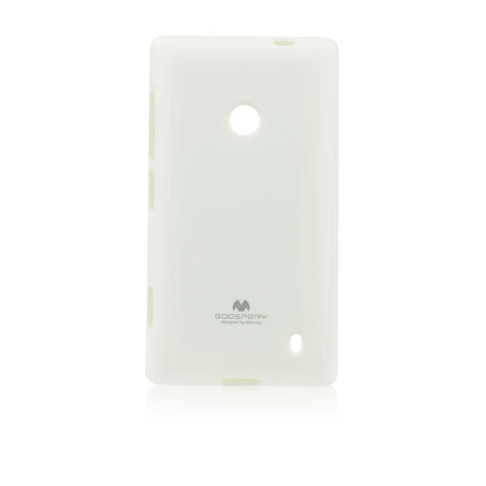 Pouzdro Jelly Mercury pro Nokia Lumia 630 a 635, White