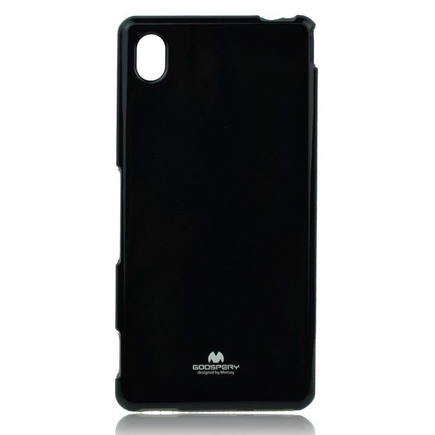 Pouzdro Jelly Mercury pro Sony Xperia M4 Aqua, Black