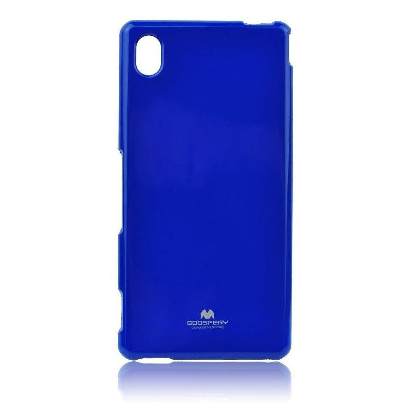 Pouzdro Jelly Mercury pro Sony Xperia M4 Aqua Blue
