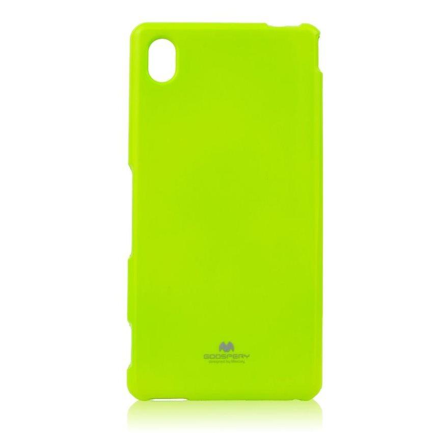Pouzdro Jelly Mercury pro Sony Xperia M4 Aqua, Lime