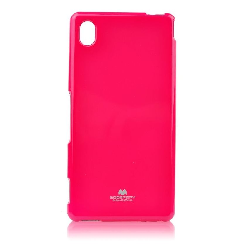 Pouzdro Jelly Mercury pro Sony Xperia M4 Aqua, Pink