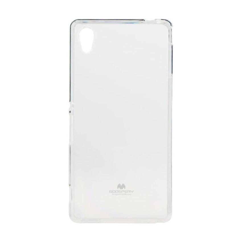 Pouzdro Jelly Mercury pro Sony Xperia M4 Aqua-E2303, Transparent