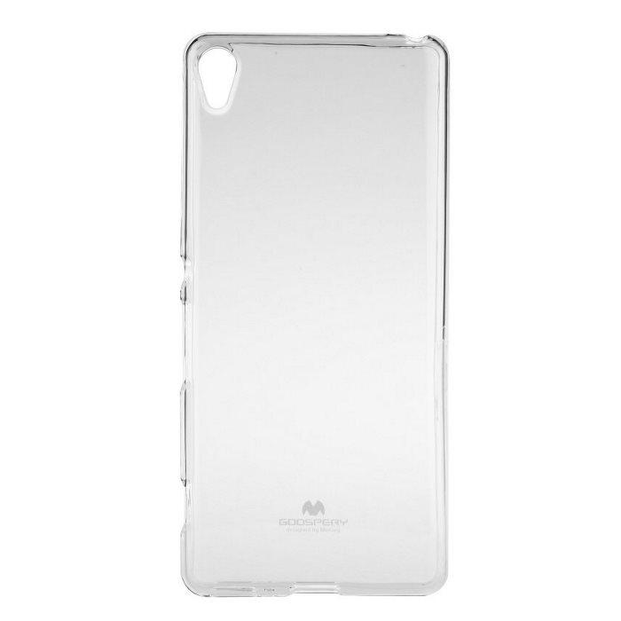 Pouzdro Jelly Mercury pro Sony Xperia XA-F3111, Transparent