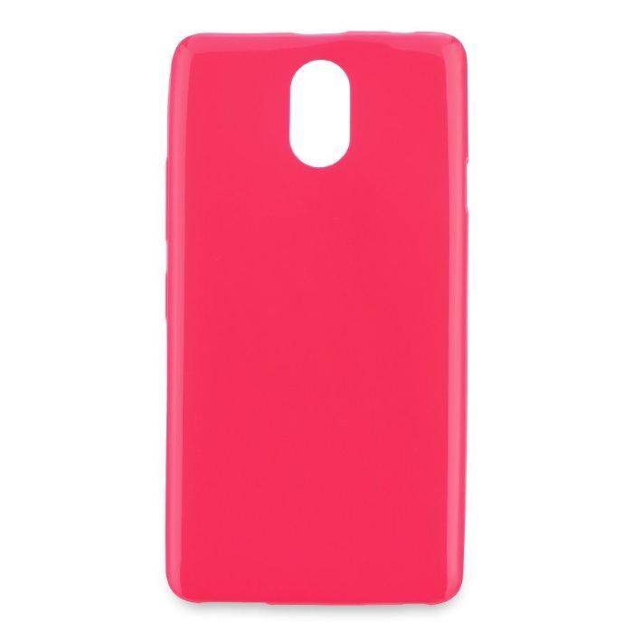 Pouzdro Jelly Mercury ultra tenké 0,3mm pro Lenovo Vibe P1m, Pink