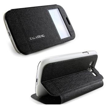 Pouzdro Kalaideng Iceland pro Nokia Lumia 630, Black