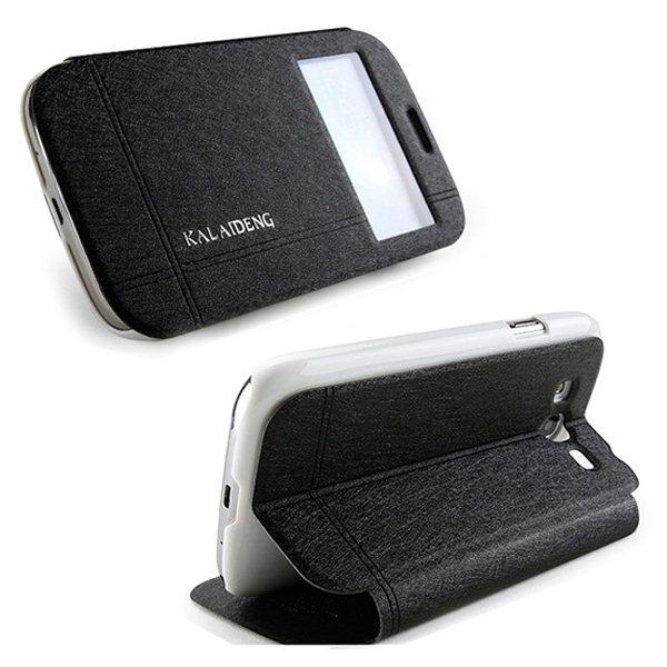 Pouzdro Kalaideng Iceland pro Samsung Galaxy S5 - G900 a S5 Neo - G903, Black