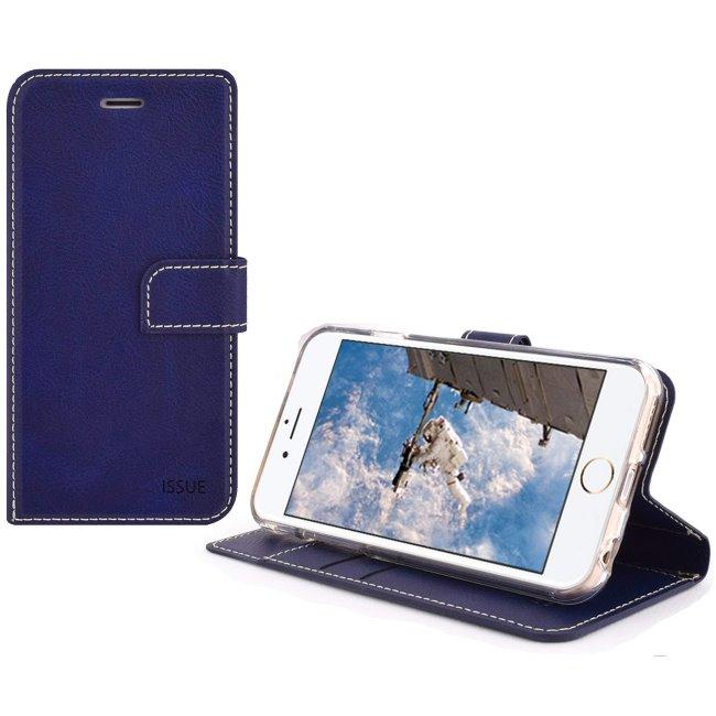 Pouzdro Molano Cano Issue Book pro Xiaomi Mi A3, Blue